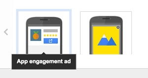 Mobile Engagement Ads